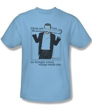 House TV Show Dr. House Idiots are Fun Every Village Wants One Shirt Adult S-3XL