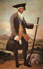 Photo Print Charles III in Hunting Costume Goya Y Lucientes, Francisco De - in v