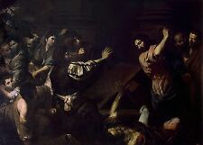 Photo Print Valentin De Boulogne Expulsion Of The Money Changers From The Templ