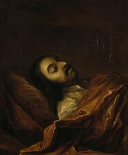 Photo Print: Nikitin Ivan Nikitich Portrait Of Peter The Great On His Death Bed