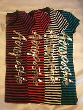 Womens Aero 1987 Aeropostale Logo, Striped, Super cute! Lots of sizes and colors