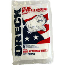 Genuine Oreck XL Hypo-Allergenic Ironman Canister Vacuum Cleaner Bags PKIM765