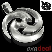 """BICO Pendant - E128 THE SOURCE """"Energy & Movement of Life Source"""" Pewter NEW"""
