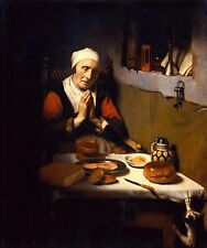 Art Photo Print - Grace Before Meal - Nicolaes Maes 1632 1693