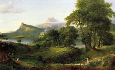 Photo/Poster - Course Of Empire Arcadia Pastoral State - Thomas Cole 1801 1848