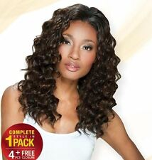 "ShakeNGo Fourbulous Synthetic Weave Hair Extension Loose Deep 5PCS 14""14""16""16"""