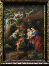 Art Photo Print - Holy Family And Apple Tree Khm - Rubens Peter Paul 1577 1640