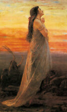 Photo/Poster - The Lament Of Jephthahs Daughter - George Elgar Hicks 1824 1914