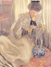 Photo/Poster - The Yellow Tulip - Frederick C Frieseke 1874 1939