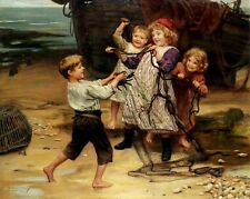 Art Print - The Days Catch - Arthur John Elsley 1861
