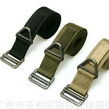 New  Rescue Riggers Tactical Rappelling Downhill Canvas waistband Belt