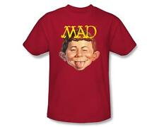 MAD Magazine Logo Alfred E. Newman Sticking Out Tongue Tee Shirt Adult S-3XL