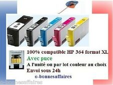 CARTOUCHES COMPATIBLES HP 364 XL AVEC PUCE Photosmart e-All-in-One B110A B110C