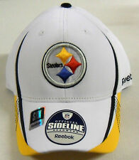 NFL Pittsburgh Steelers Reebok Structured Flex Cap Hat NEW!