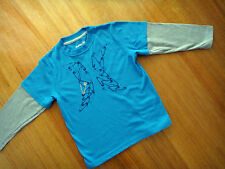 BNWOT Gorgeous HURLEY D/S L/S Tee Size 4, 5, 6, 7, S, M