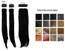 CLIP IN HAIR EXTENSION LIKE HUMAN HAIR 24 INCHES VOLUME 200 g COLORS AVAILABLE