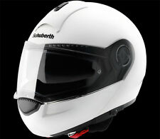 Schuberth C3 Flip Up Helmet Gloss WHITE / BLACK