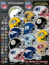 NFL Team Helmet Football Stickers