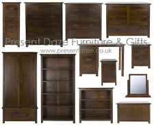 Boston Dark Wood Bedroom Furniture Range Easy Home Assembly & Free Del Available
