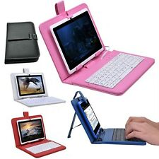 Stylus Pen+ USB Keyboard Leather Case Cover For 7'' Inch Tablet PC Mid Notebook