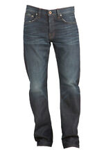 J BRAND MENS WALKER RELAXED STRAIGHT LEG JEANS IN CHARGER