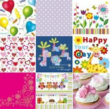 4 x Single Paper Napkins Vintage Style for decoupage 9 Designs - and you choose