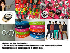 wholesale bulk lots ONE DIRECTION fans Jewellery mixed bracelets rings necklaces