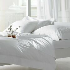 Best Offer!! White Solid Perfectly Pocket Mattress 1000TC Sheet Set Pure Cotton!