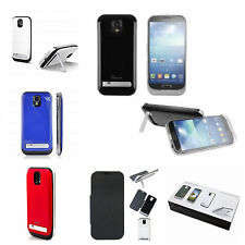SAMSUNG GALAXY S4 SIV POWER PACK BACKUP EXTENDED BATTERY CASE/COVER SKIN 3200mAh