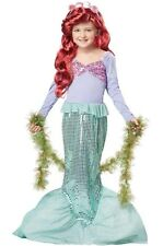 Little Mermaid Ariel Sea Princess Dress Up Child Halloween Costume