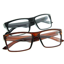 Smart Interview Fake Glasses Sunglasses Clear Lens Rectangle Square Intelligent