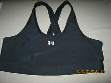NWT Womens Under Armour Heatgear Fitness & Yoga Sports Bra with AB or C Support