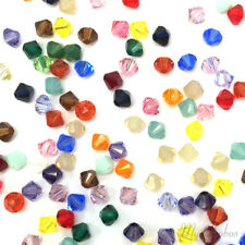 3mm Mix Color Genuine Swarovski crystal 5301 Loose Bicone Beads