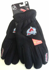 NHL Colorado Avalanche Degrees by 180's Winter Fleece Gloves W/ Exhale Heating™