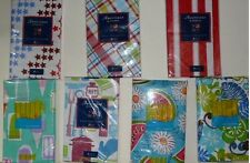Summer Vinyl Tablecloth 9 Styles 4 Sizes UPic 4th July Floral Fruit Ice Cream ++