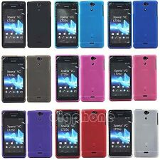 Matte TPU Silicone Gel Case Cover for Sony Xperia V VC VL LT25i LT25c