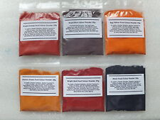 Food Colouring Powder Concentrated 25g All Colours and Black Water Soluble Color