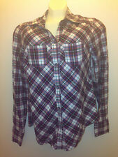 North Crest women's  Plaid women's Shirt Size small 6-8 VARIES COLOR