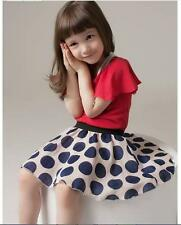 Girls Stylish Chic Polka Dot Dress French Inspired Sizes 1 - 6 BNWT