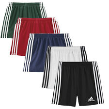 NEW ADIDAS 3 STRIPES RUGBY TRAINING KIDS MULTI COLOUR CLIMACOOL SHORTS UK SIZE