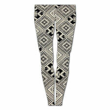 LADIES WOMENS GIRLS NEW SEXY MONOCHROME WHITE BLACK AZTEC STYLE TIGHT LEGGINGS