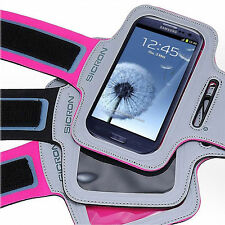 SICRON SPORT GYM RUNNING JOGGING ARMBAND POUCH CASE FOR SAMSUNG GALAXY S3/S4/S5