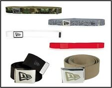 New Era Basic Canvas 2 Enamel Buckle Belt matches Jordan 3 III Cement Sport Blue