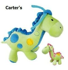 Carter's Just One Year Baby Dinosaur Musical Pull Plush Crib Toy