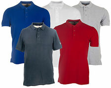 Dissident Langley Mens Short Sleeve Polo Shirt in 5 Colours *BNWT*