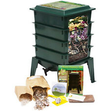 worm factory kit worm farm bin WITH WORM best vermicomposter worm composter 360