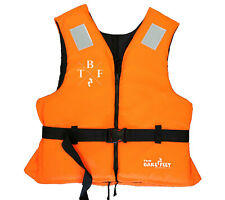 50N BUOYANCY AID Life Jacket Adults (Orange) by TWO BARE FEET
