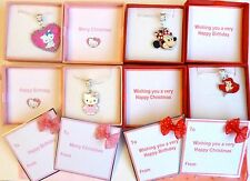 Childrens Birthday Christmas Gift Hello Kitty Minnie Mouse Princess Ariel Boxed