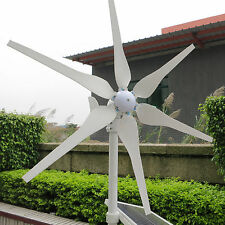 New 300W Wind Turbine Generator Kit DC12/24V Max up to 350W