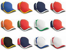 Result Headwear National Cap - Country Football Flag Colours Team Adjustable